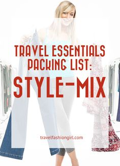 25 Ways to Mix and Match Outfits Using Just 8 Travel Essentials