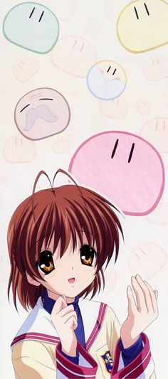 Nagisa from Clan'nad. This anime made me cry so much.