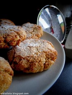 Delicious Desserts, Dessert Recipes, Gluten Free Recipes, Healthy Recipes, Paleo, French Toast, Deserts, Food And Drink, Cookies