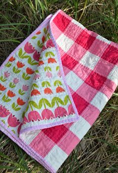 Gingham style quilt