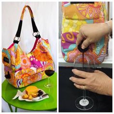 #Wine in your #purse?!?!  #Party in a handbag?!?!  This beverage tote comes with a refillable bag that dispenses any beverage you want to take with you. The tote also comes with an ice pack to keep the beverage cool. #Perfect for the #beach #party #shopping #walk #bookclub #girlsnight #picnic #ThatPerfectThing #ThatPerfectThingShop
