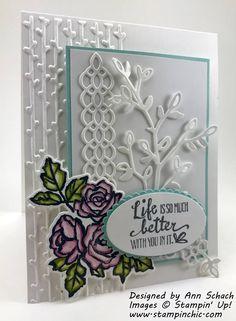 Image result for cartes petal palette stampin up