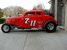 34 Ford 5 Window A/Gas Hot Rod Coupe