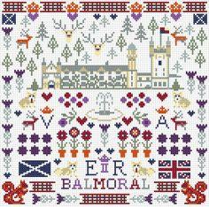 BALMORAL ROYAL SAMPLER CROSS STITCH KIT by Riverdrift House, http://www.amazon.co.uk/dp/B00CBVG12W/ref=cm_sw_r_pi_dp_Aqeotb0WHV4TV