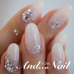 White with bling and glitter...maybe seashells???