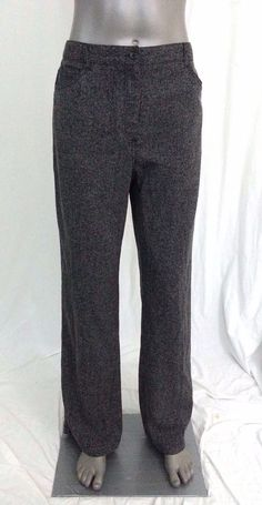 NWT Croft & Barrow Dress Pants Women's size 12 career work office casual #CroftBarrow #DressPants