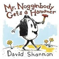 Beloved picture book creator David Shannon introduces a new character in a satisfyingly silly and subversive take on a familiar parable. Nogginbody Gets a Hammer, David Shannon, 9781324003441 David Shannon, Book Creator, Children's Picture Books, Little Golden Books, Read Aloud, Bestselling Author, Childrens Books, Storytelling, Funny Pictures