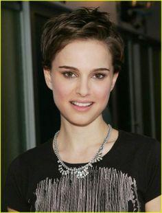 Natalie Portman Short Hair