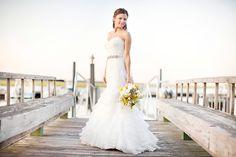 Gorgeous bridal shoot