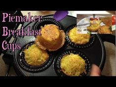 Breakfast Cups Piemaker Budget Recipe cheekyricho tutorial Breakfast Cups Piemaker Budget Recipe cheekyricho tutorial just 2 eggs, 2 spuds and each of cheese & bacon and you have a hearty breakfast for 2 in a few minutes. Breakfast On A Budget, Breakfast Cups, Breakfast Quiche, Breville Pie Maker, Egg And Bacon Pie, Mini Pie Recipes, Just Pies, Ways To Cook Chicken, Mini Pies