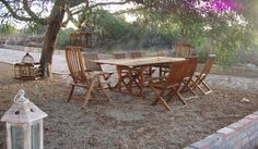 Enjoy a long lunch under the trees at Inglenook Chic
