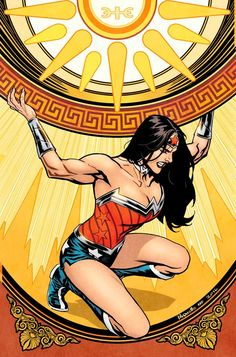 Wonder Woman #52 - Yanick Paquette, Colours: Nathan Fairbairn
