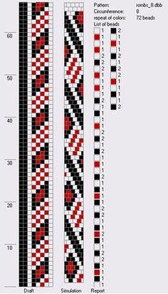 8 around bead crochet rope pattern Bead Crochet Patterns, Bead Crochet Rope, Seed Bead Patterns, Beaded Jewelry Patterns, Peyote Patterns, Beading Patterns, Beaded Crochet, Beading Tutorials, Loom Bracelet Patterns