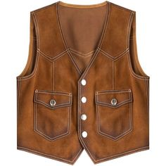 Dsquared2 Suede Vest (€490) ❤ liked on Polyvore featuring outerwear, vests, jackets, brown, brown vest, brown waistcoat, dsquared2, cowboy vest and fitted vest