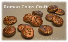 Susan's Homeschool Blog - http://susanevans.org/blog/roman-coins-craft/