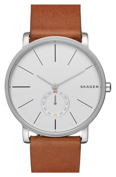 This Skagen watch is classic and timeless, something Dad can continue to wear for years.