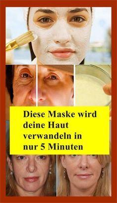 This mask will transform your skin in just 5 minutes - Gesundheit wohlbefinden - Hautpflege Beauty Care, Diy Beauty, Beauty Skin, Health And Beauty, Beauty Hacks, Homemade Beauty, Healthy Beauty, Face Beauty, Beauty Box