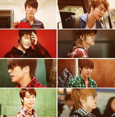 Donghae in plaid