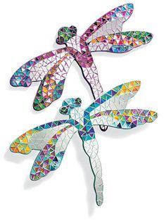 Image result for dragonflies wall art