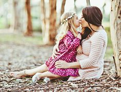 Mother Daughter Maternity Photos - Inspired By This-the sweetest!