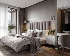 Luxurious bedrooms - 30 Minimalist Bedroom Decor Ideas that are Not Too much but Just Enough – Luxurious bedrooms Luxury Bedroom Furniture, Luxury Bedroom Design, Bedroom Bed Design, Bedroom Sets, Home Decor Bedroom, Interior Design, Modern Furniture, Rustic Furniture, Antique Furniture