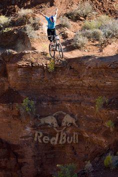 Brandon semenuks big air. Off a clifff