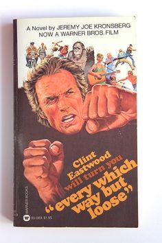 1970s Clint Eastwood  by AnemoneReadsVintage anemonereadsvintage.etsy.com