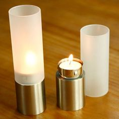 Stainless Steel Candlestick #women, #men, #hats, #watches, #belts, #fashion