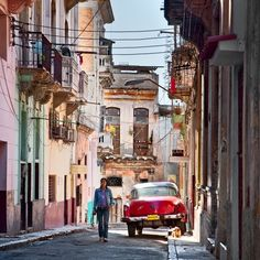 Havana, Cuba. darling. can i just travel the world, please? .