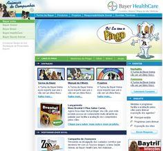 Portal Bayer HealthCare #protal #portais #cms #web #web20 #flexup