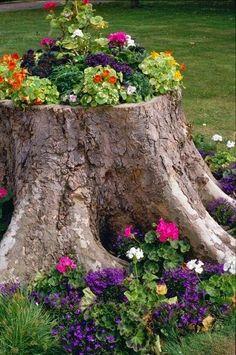 decoração rustica para jardim - Pesquisa Google