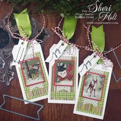 Stamp Simply Christmas Tag Trio created by Authentique Paper Christmas Gift Tag Stamp Simply Stamp Simply Clear Stamps Stamp Simply Dies Christmas Card Crafts, Christmas Paper, Christmas Images, Christmas Themes, Merry Christmas, Christmas Sentiments, Christmas Blessings, Ribbon Store, Simply Stamps