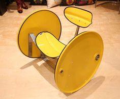 Upcycled Oil Barrel Furniture : Barrel Furniture