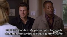 Watched this episode the other day, so funny! And the noise Gus was making during this part was hilarious.