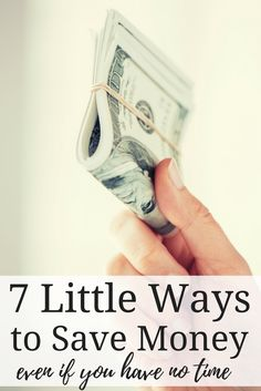 Frugal Living for Beginners | Frugal Living Ideas | Little Ways to Save Money Around the House | Frugal Living Tips | Money Saving Tips | Saving Money Tips