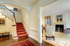 staircase but different carpet runner