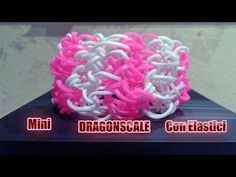 Tutorial Bracciale Doppio dragon con elastici RAINBOW LOOM - YouTube