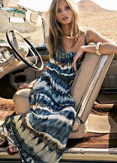 maxi-dress for summer