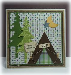 Camping Dad by Lisa Ku - Cards and Paper Crafts at Splitcoaststampers