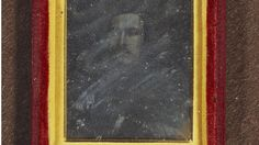 Daguerreotype of Prince Albert (1819-1861), by William Constable taken in 1842.