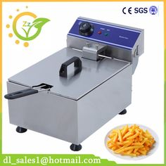 10L Electric Blast Furnace Cylinder Thickening Fryer Grill Fried Chicken Fried Dough Sticks Furnace Fries Machine Deep Fryer