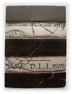 Sid Dickens Memory Block  Stripe With Script And Seal    1995 Collection - PQ10
