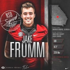 Jake Fromm ✔️ #SicEm17 Welcome to the #UGAFamily! #ATD / #CommitToTheG