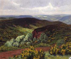 Fritz von Wille: Eifellandschaft aus unserer Rubrik: Gemälde des 19. Jahrhunderts