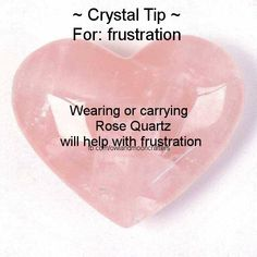 for FRUSTRATION-Get this crystal here: https://www.etsy.com/shop/MagickalGoodies