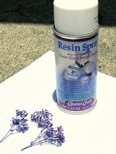 resin gloss sealer spray