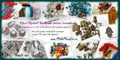 Kituri confectionare bijuterii pentru incepatori  www.miidemargele.ro