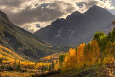 For the fall hiker: Maroon Bells