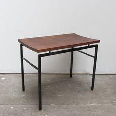 Bijzet tafel teak metaal Office Desk, Table, Furniture, Home Decor, Desk Office, Decoration Home, Desk, Room Decor, Tables