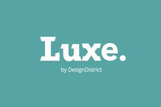 Luxe Font by DesignDistrict on Creative Market